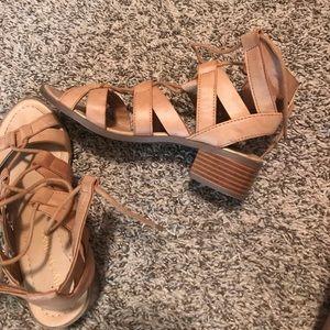 Women's heels sandals